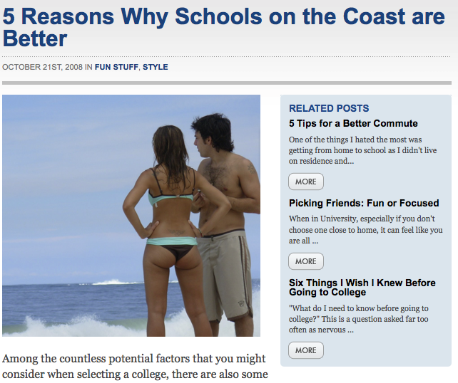 College Crunch is a site developed to help prospective students understand ...