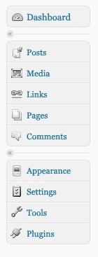 Luke Smith's menu icons