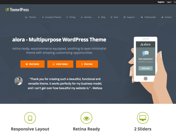 Web de Theme4Press