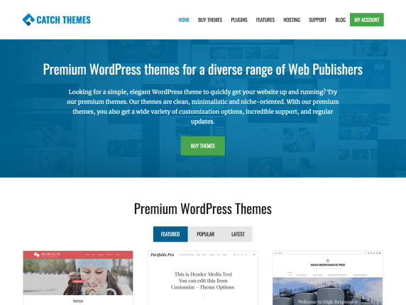 Web de Catch Themes